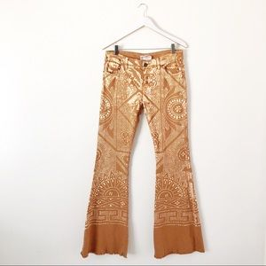 Free People Discharge Bali Flare Bell Bottom Pants